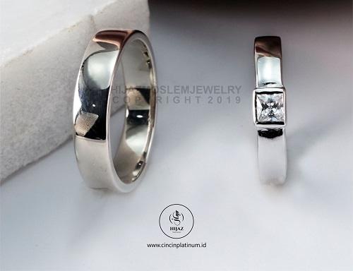 cincin nikah emas putih