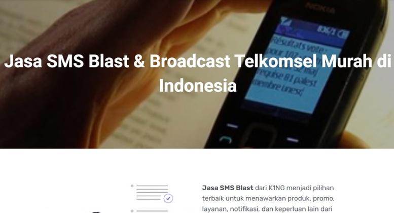 SMS-Blast-Telkomsel