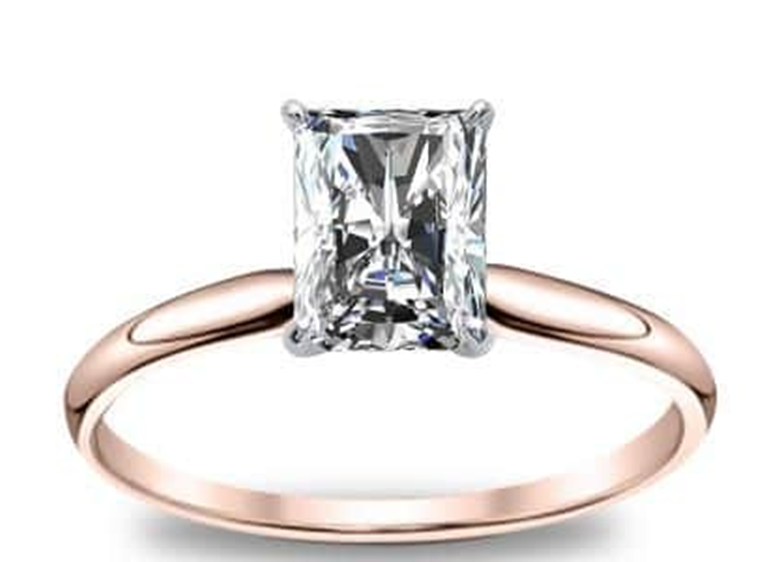 cincin berlian simpel